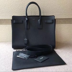 Yves Saint Laurent Classic Sac De Jour Black Large